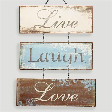 Live Laugh Love Signs | live love laugh metal sign world market