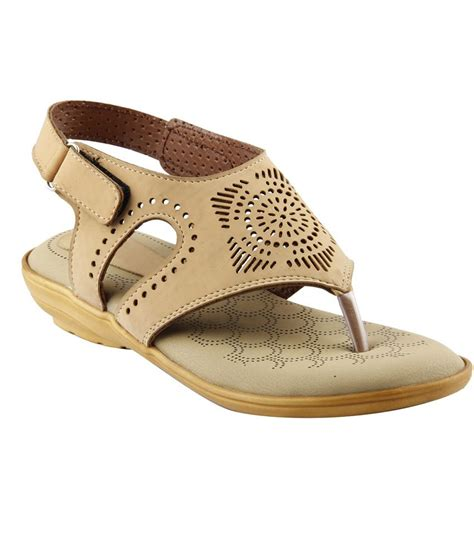 beige sandals low heel gostyllo beige low heel sandals price in india buy