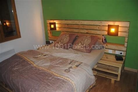 Wooden Pallet Headboard by How To Create Beautiful Headboard From Wooden Pallet