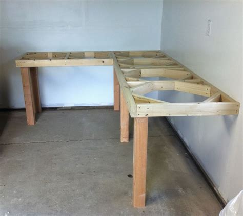 garage bench designs 1000 ideas about garage workbench on pinterest