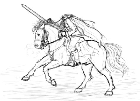 The Headless Horseman By Eleaun On Deviantart Headless Horseman Coloring Pages