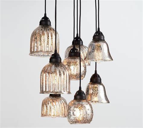 pottery barn lighting chandelier kenzie mercury chandelier pottery barn