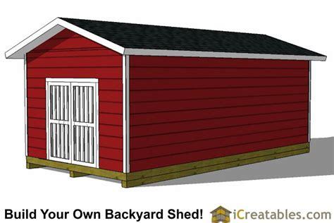 Blueprints For Sheds 12×24