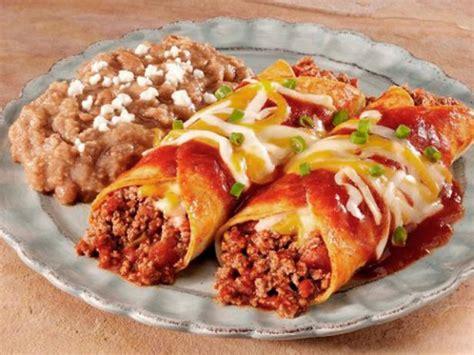 beef enchilada rancheras recipe food network