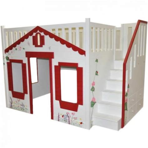 Storybook Cottage Bed by Storybook Cottage Loft Bed