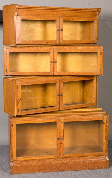 oak 8 door stacking bookcase antiques atlas
