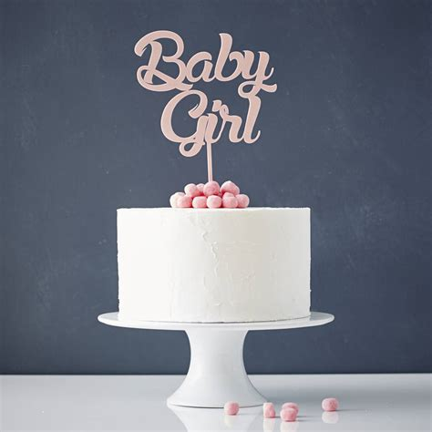 baby baby shower cake topper by