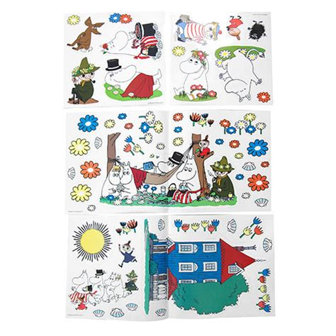 moomin wall stickers moomin peel and stick removable wall decals moomin