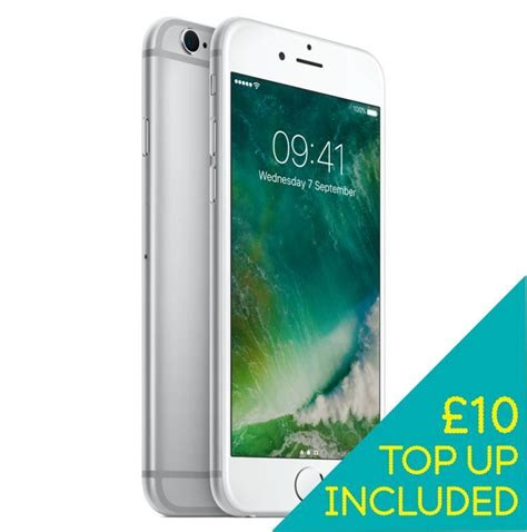 iphone 6s plus smartphone 32gb silver on ee pay as you go ebay