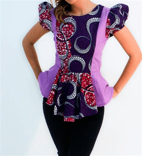 ankara peplum tops styles beautiful ankara peplum tops styles fashion nigeria