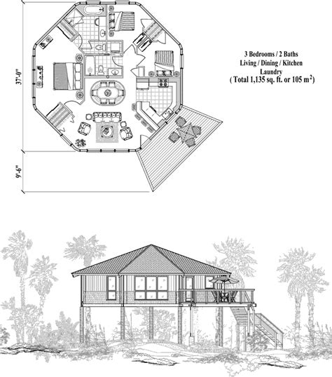 3234 0411 square feet 4 bedroom 2 story house plan online house plan 3 bedrooms 2 baths 1135 sq ft