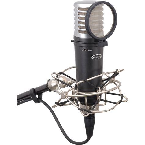 capacitor microphone ppt samson mtr201 condenser microphone samtr201a b h photo