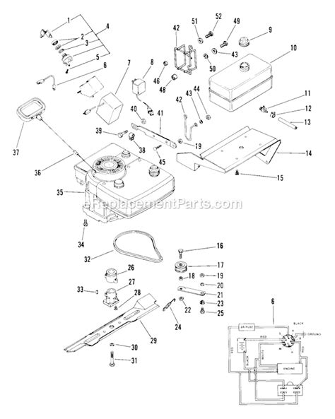 ariens parts diagrams ariens mower parts diagram keywordtown