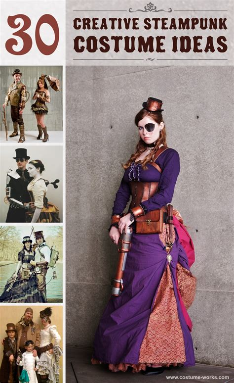 creative steampunk costume ideas