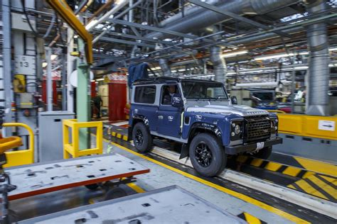 jaguar land rover production jaguar land rover plant in slovakia confirmed starts