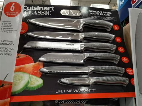cuisinart kitchen knives cuisinart 6 knife set