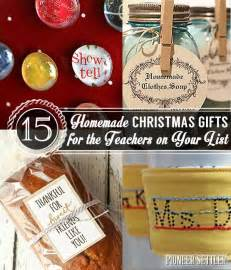 15 homemade christmas gift ideas for teachers