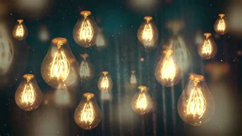 cool vintage light bulbs moving vintage light bulbs background motion loops