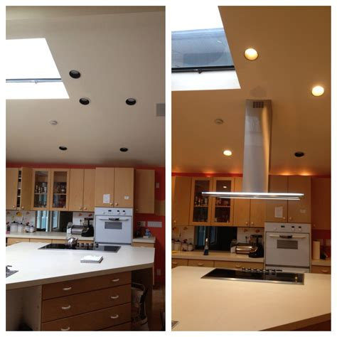 typical concealed flush ceiling extractor by air uno designer kitchen extractor fans kitchen installed on