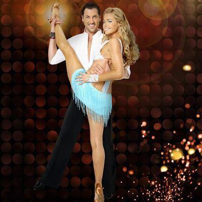 denise richards  maksim chmerkovskiy  dwts pure dancing   stars