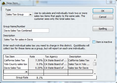 What Reports From Quickbooks Are Needed For Taxes by Setting Up Sales Tax In Quickbooks Accountex Report