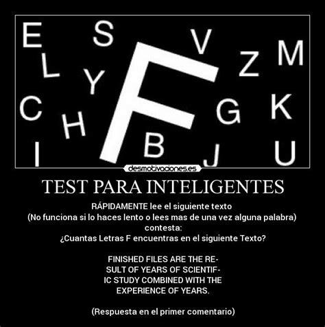imagenes para hombres inteligentes test para inteligentes desmotivaciones