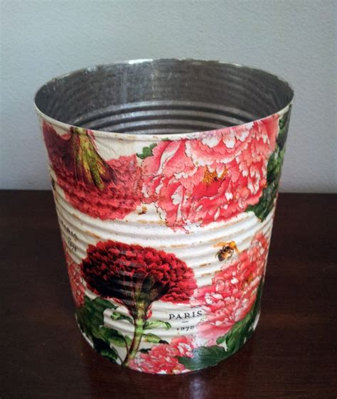 decoupage tin 17 best images about save that trash on