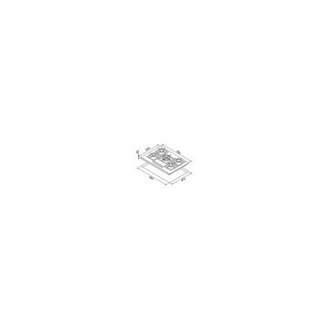 misure piano cottura 5 fuochi piano cottura in fragranite elleci pgsp75140cs piani