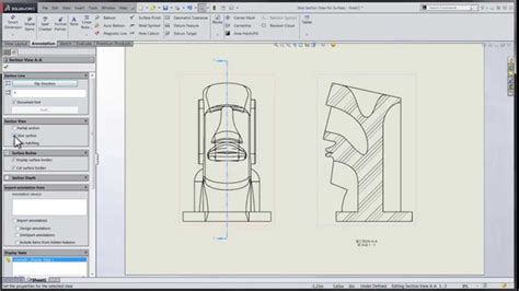 solidworks section view tech tip solidworks 2015 tutorial slice section view