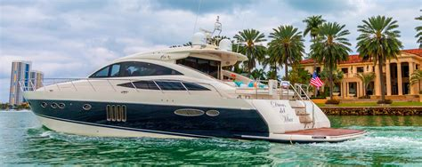 yacht charter miami 1 yacht boat rental in miami miami five star yacht