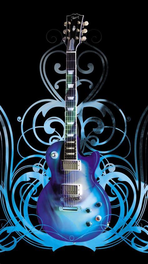 wallpaper guitar blue blue guitar galaxy s3 wallpaper 720x1280