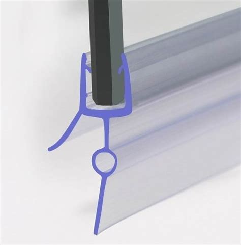 Glass Shower Seal by Shower Screen Seal For 4 6mm Glass Door Bath Panel Ebay