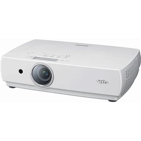 Lu Lcd Projector Sanyo sanyo plc xc55 ultra portable lcd projector plc xc55 b h photo