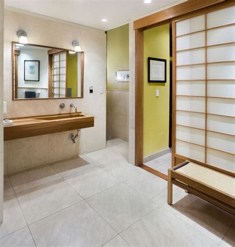Neutral Bathrooms - 18 stylish japanese bathroom design ideas