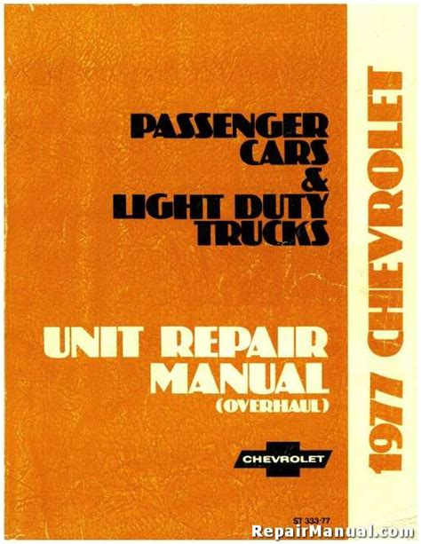 service manual service and repair manuals 1977 chevrolet caprice auto manual service manual 1977 chevrolet passenger cars and light trucks service manual