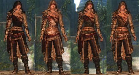 skyrim armor and clothing dreamburrows regal huntsman armor at skyrim nexus mods