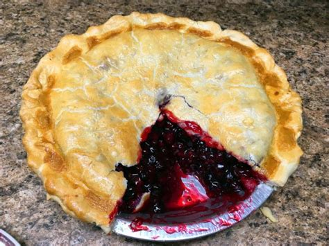 Link Apple Huckleberry Peace Pie by This World Oregon Pie Near Crater Lake Is To Die