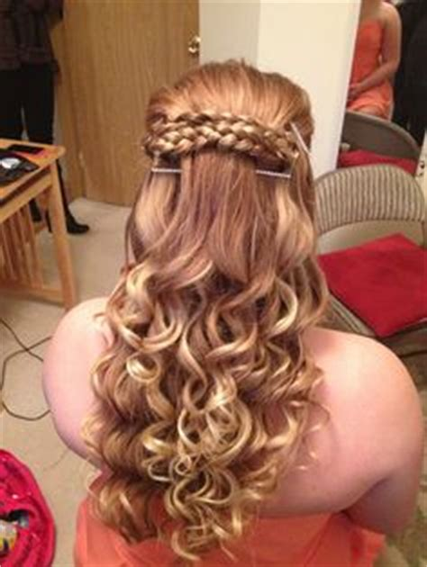 cute hairstyles for junior high dances snowball on pinterest snowflake nails hair style and