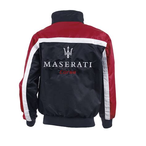 Maserati Jacket by Maserati Mc Trofeo Mens Windproof Zip Jacket