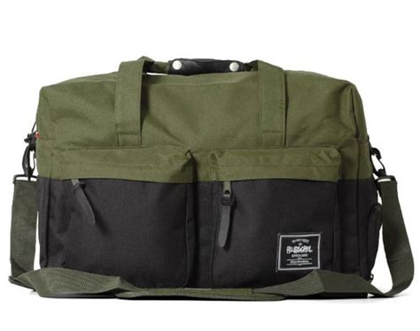 Stussy Duffle Bag stussy x herschel supply co duffle bag collection