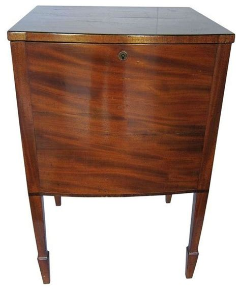 antique locking liquor cabinet table nightstands and