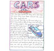 Cars Essay Example Student Activity