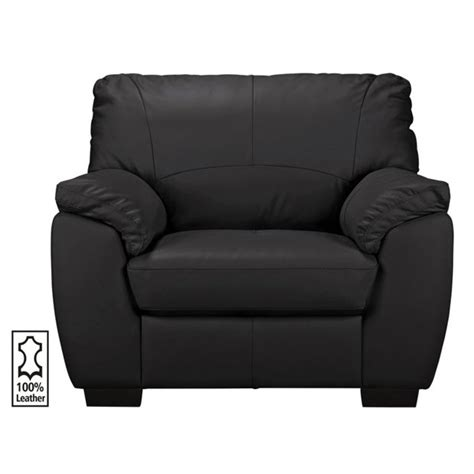 buy collection leather chair black at argos co uk