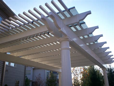 Build Vinyl Pergola Diy Diy Pdf Wine Rack Building Pergola Building Materials