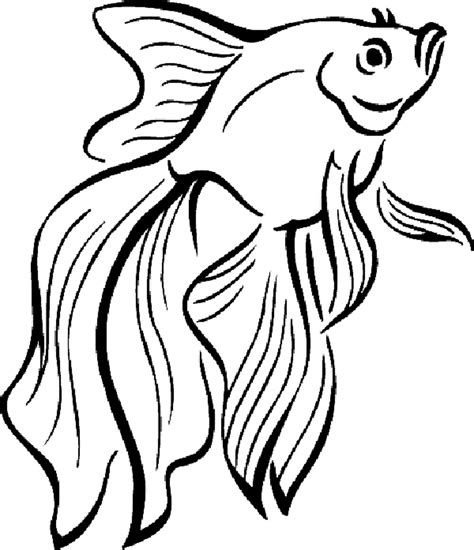 coloring pages cute fish print download cute and educative fish coloring pages