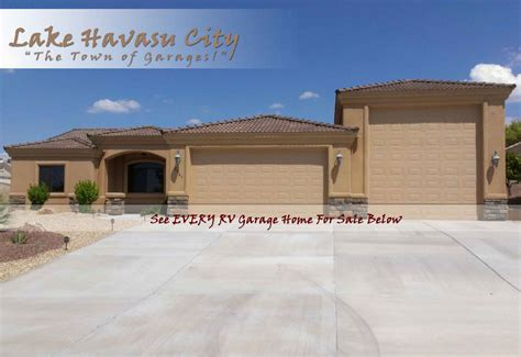 rv garage homes for sale in lake havasu
