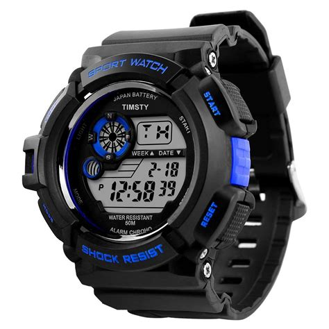 boys sports electronic quartz digital