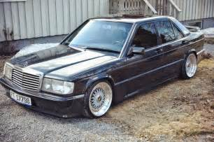 190e Mercedes Mercedes 190e W201 On Bbs Wheels Benztuning