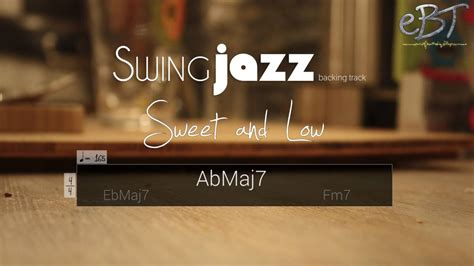 minor swing backing track swing jazz backing track in c minor 165 bpm