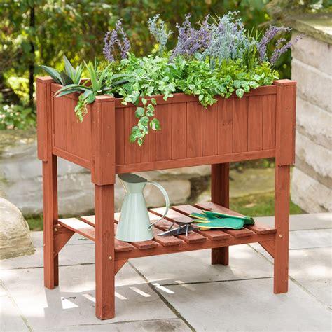 leisure season         raised garden
